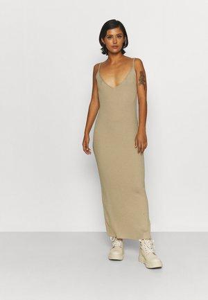 THIN STRAP DRESS - Jumper dress - beige