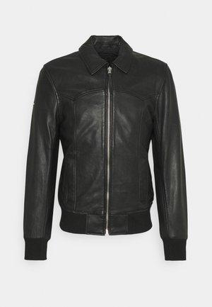INDIE CLUB JACKET - Faux leather jacket - black