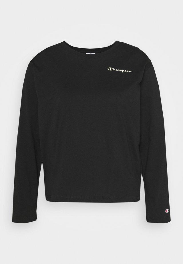 LONG SLEEVE LEGACY - Long sleeved top - black