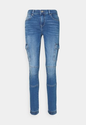 ONLMISSOURI LIFE - Cargo trousers - medium blue denim