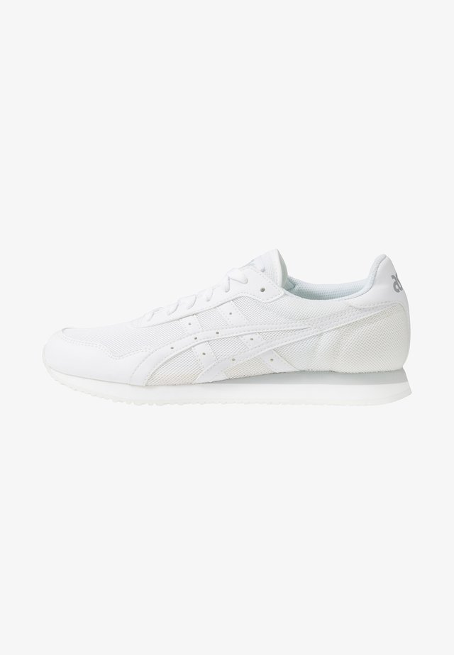 TIGER RUNNER UNISEX - Matalavartiset tennarit - white