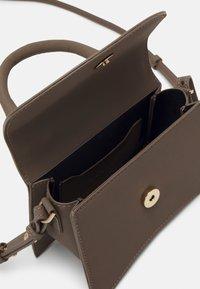 Topshop - MINI XBODY WITH CHAIN - Handbag - pale blue - 2
