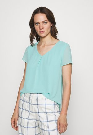 KURZARM - Blouse - fresh aqua