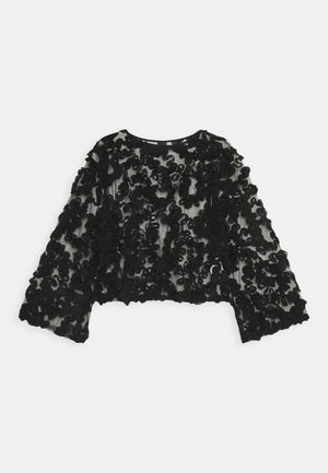 CECILIA  - Long sleeved top - black