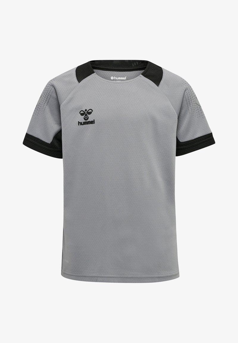 Hummel - Print T-shirt - grey melange