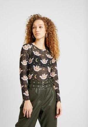 SILVANA - Långärmad tröja - black dark