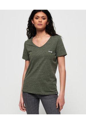 ORANGE LABEL - T-shirts med print - washed khaki