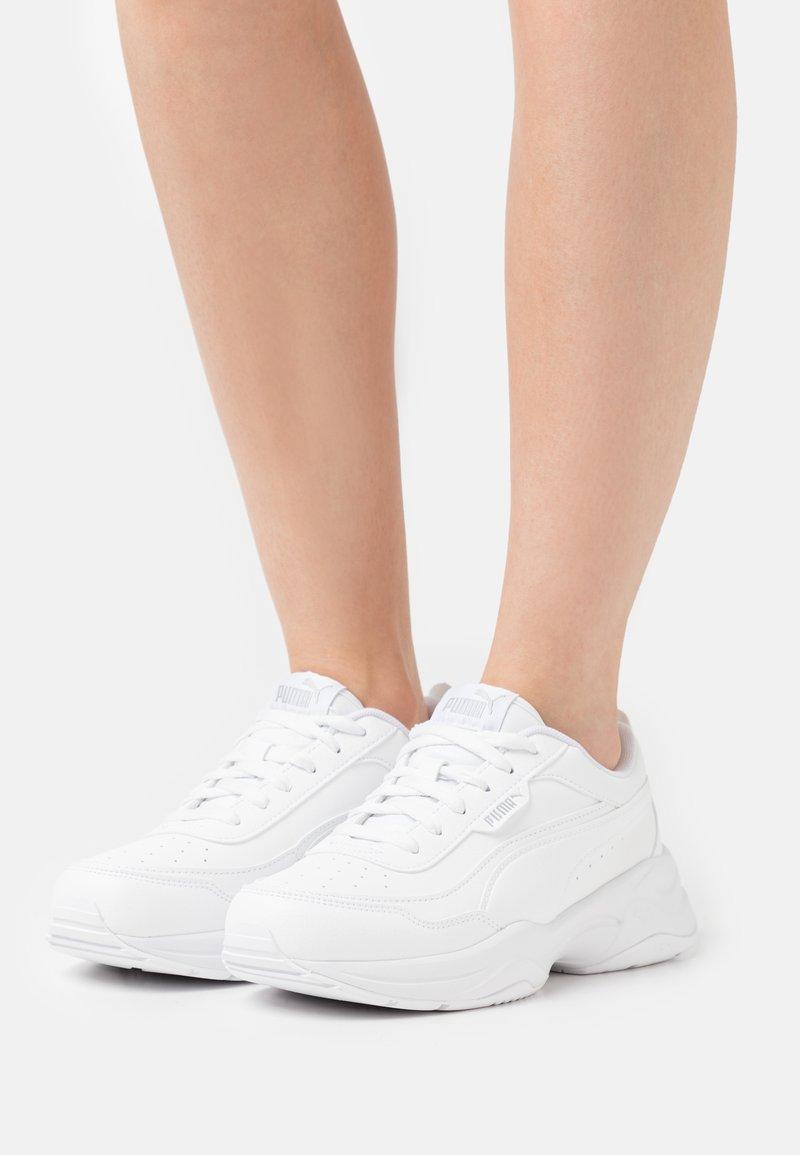 Puma - CILIA MODE - Trainers - white/silver