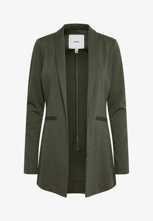 KATE LONG BL - Short coat - duffel bag