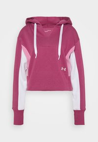 Under Armour - RIVAL HOODIE - Sweatshirt - pink quartz - 3
