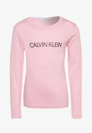 INSTITUTIONAL LOGO  - Longsleeve - pink