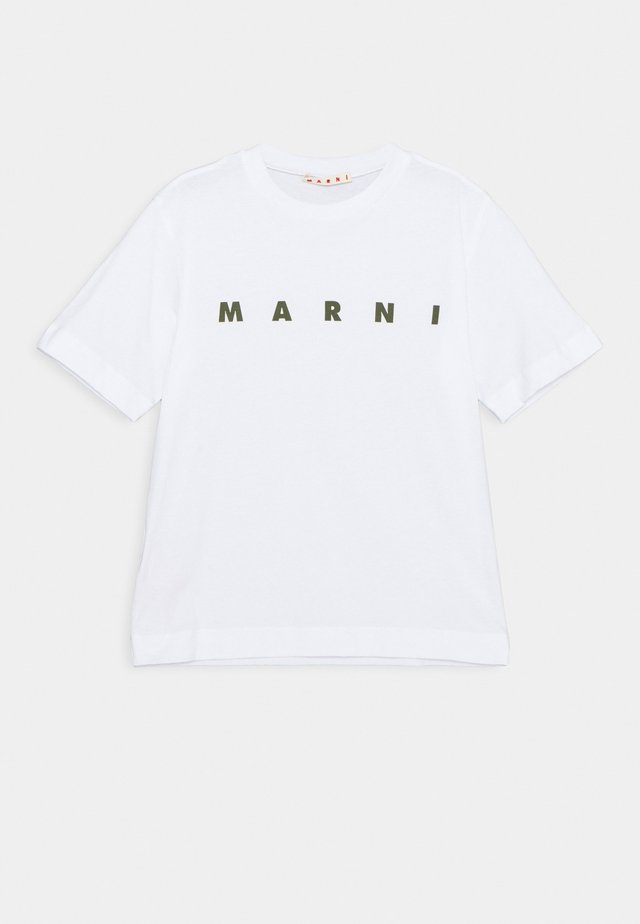 MAGLIETTA UNISEX - Camiseta estampada - white