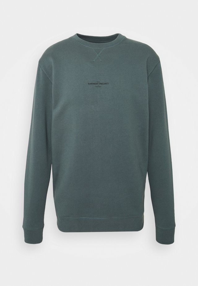 CREW NECK - Sweatshirt - balsam green