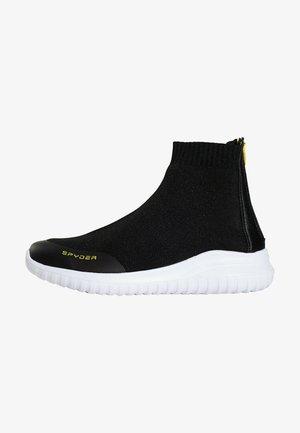 BASKETS LEON - Sneakers hoog - black melange
