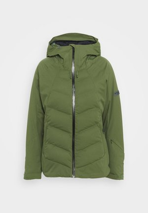 DUSK - Snowboardjacke - bronze green