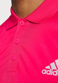 adidas Performance - CLUB SPORTS SHORT SLEEVE  - Sports shirt - power pink - 4