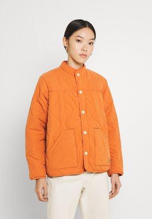 PADDED - Bomber bunda - desert orange