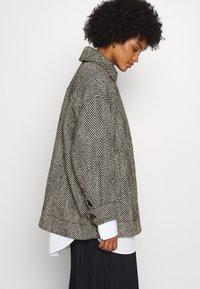 Weekday - CARLI JACKET - Short coat - black/white - 3