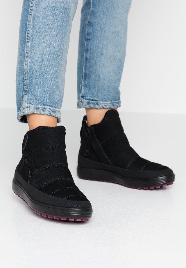 SOFT 7 TRED - Korte laarzen - black