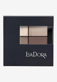 IsaDora - EYESHADOW QUARTET - Eyeshadow palette - cappuccino - 2