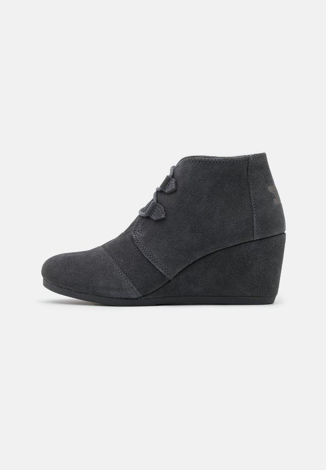 KALA - Botines bajos - dark grey