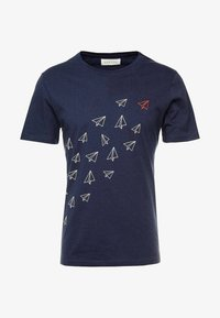 Pier One - T-shirt med print - dark blue - 3