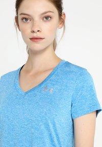 Under Armour - TECH TWIST - Camiseta de deporte - blue circuit / metallic silver - 3