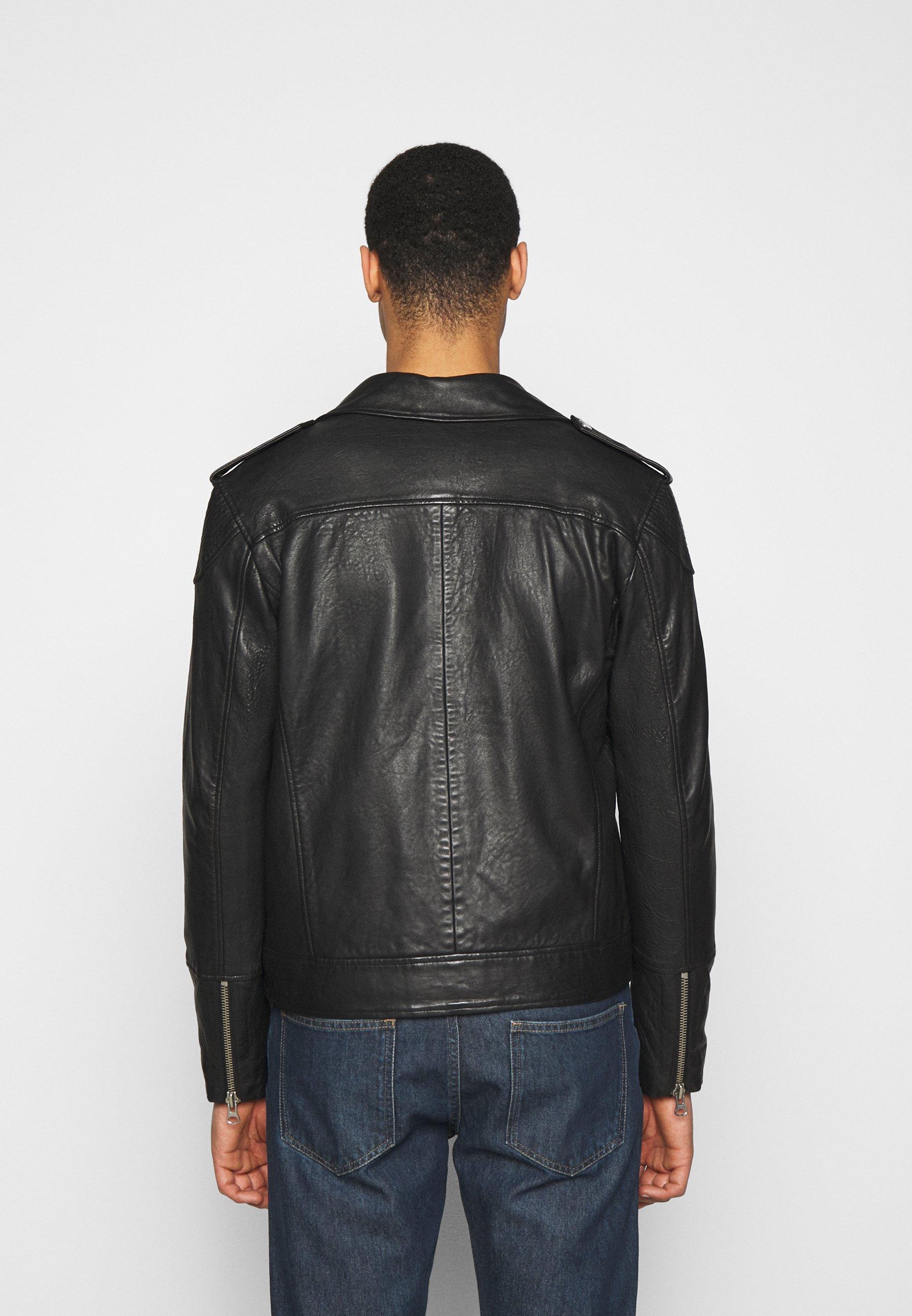 Men SAIKAT BIKER JACKET - Leather jacket