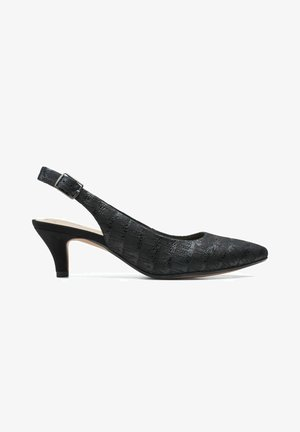 LINVALE SONDRA - Tacones - black leather