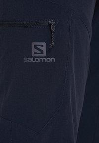 Salomon - WAYFARER TAPERED PANT - Outdoor trousers - night sky - 5