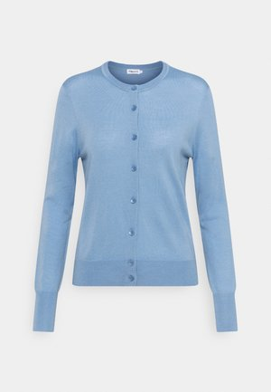 SHORT CARDIGAN - Cardigan - faded blue