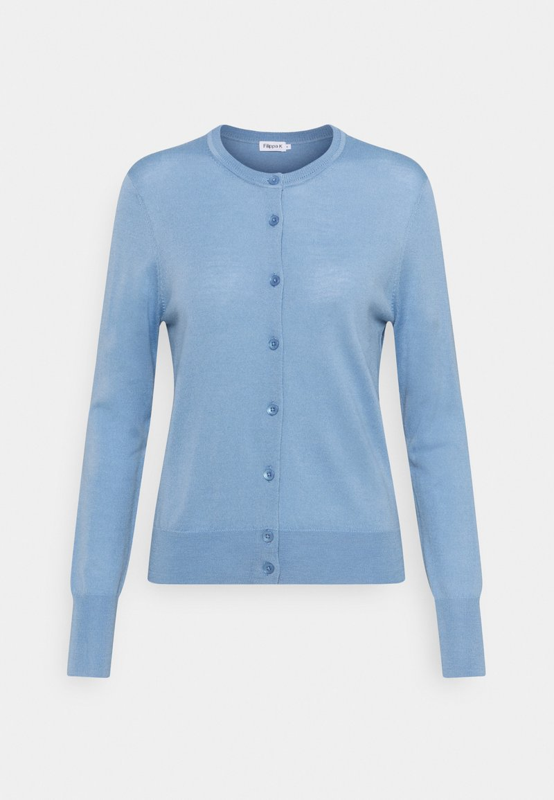 Filippa K - SHORT CARDIGAN - Cardigan - faded blue