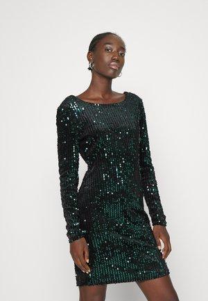 ONLCONFIDENCE DRESS - Cocktail dress / Party dress - black mallared/green