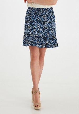 BYMMJOELLA  - Mini skirt - brunnera blue mix