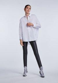 SET - Button-down blouse - bright white - 1