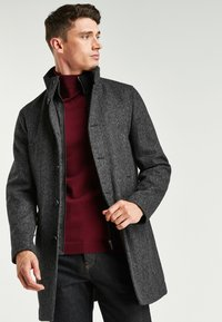 Next - FUNNEL NECK - Short coat - grey - 0