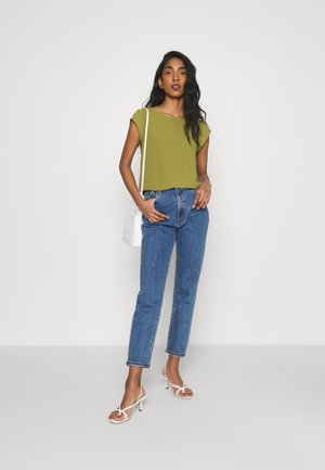 Blouse - green olive