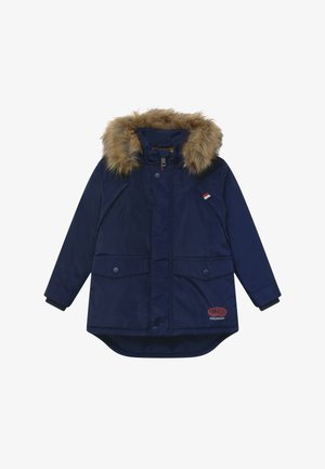 SMALL BOYS - Winter coat - navy blazer