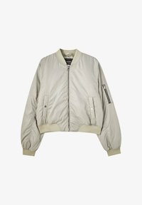 PULL&BEAR - Bomber Jacket - grey - 6
