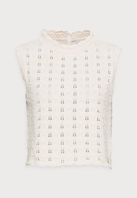 Rich & Royal - CREW NECK WITHOUT SLEEVES - Jumper - white stone - 4
