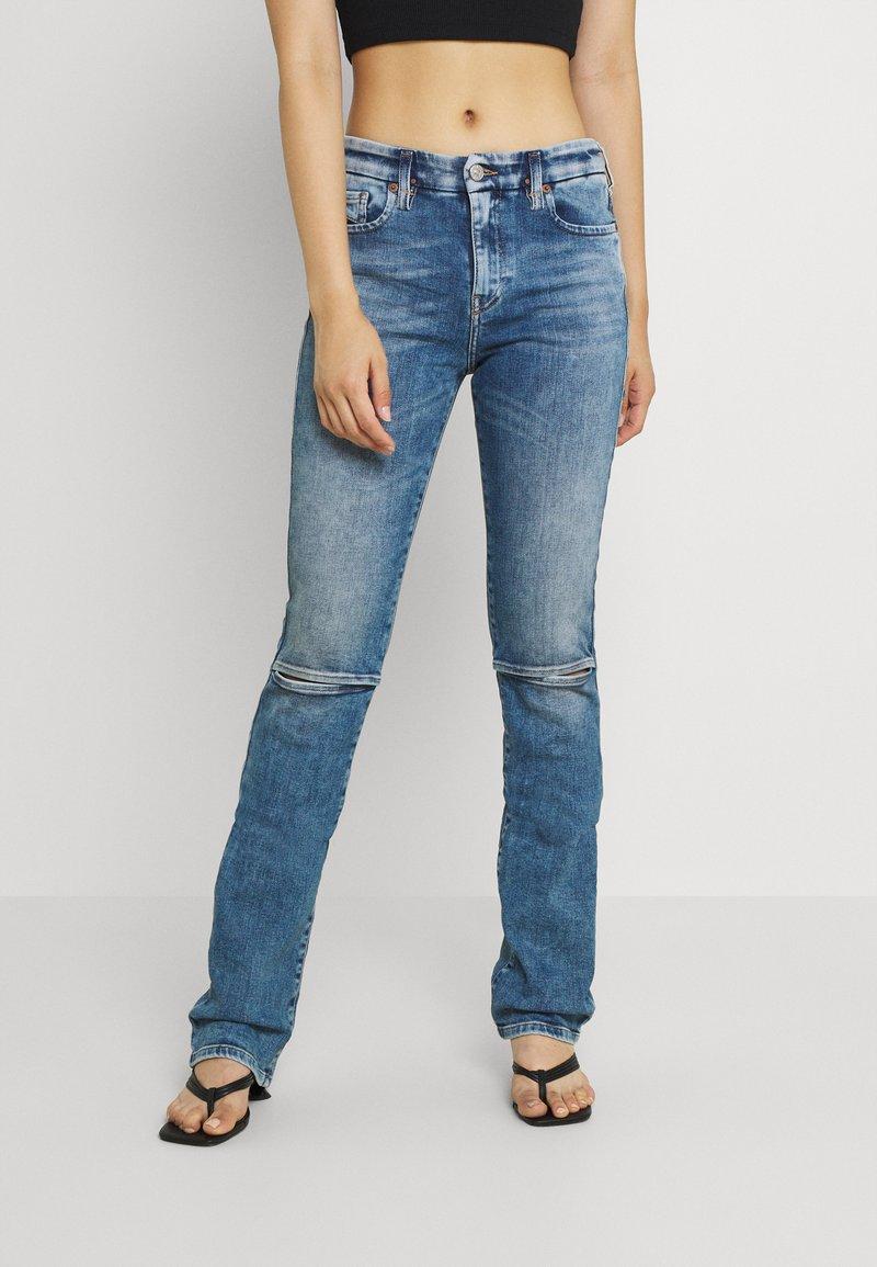 Diesel - D-SLANDY - Bootcut jeans - light blue