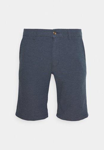Shorts - navy/white