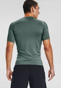 Under Armour - UA RUSH HG COMPRESSION SS - T-shirt basic - lichen blue - 1