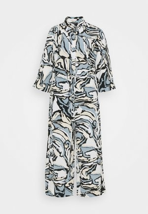 HARRIOT - Jumpsuit - black/beige/blue