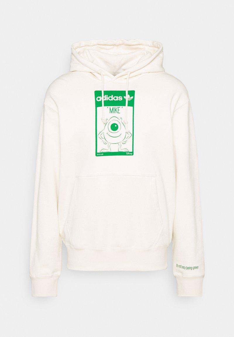 adidas Originals - HOODIE MIKE UNISEX - Collegepaita - off white