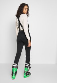 Missguided - SKI SALOPETTES - Pantaloni - black - 2