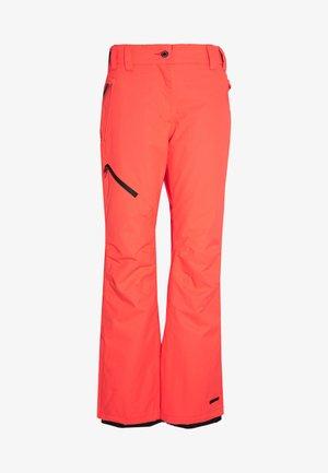 CURLEW - Pantalon de ski - coral/red
