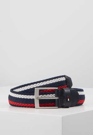ADAN STRIPE - Belt - blue