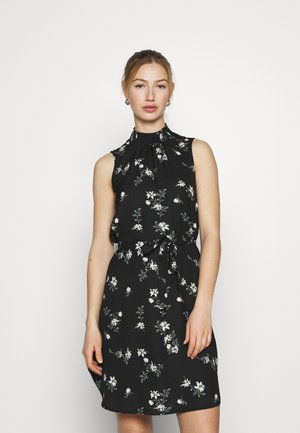 VMFALLIE SMOCK DRESS - Vestito estivo - black/exotic hallie