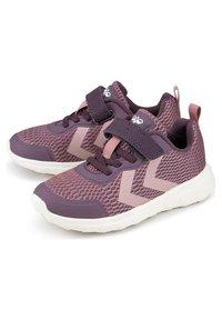 Hummel - ACTUS ML JR - Sneakers - dunkellila - 1